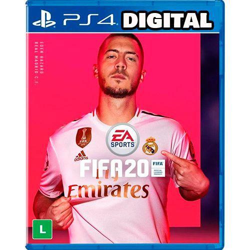 Fifa 20 - PS4 - Mídia Digital