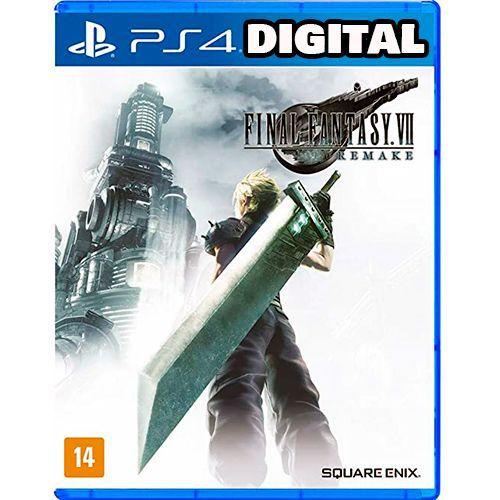 Final Fantasy 7 Remake - PS4 - Mídia Digital
