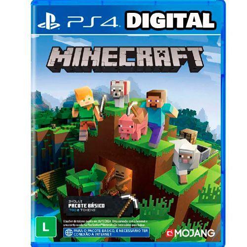 Minecraft - PS4 - Midia Digital