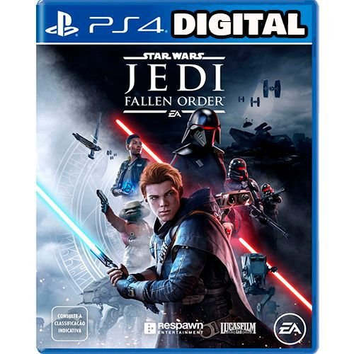 Star Wars Jedi Fallen Order - PS4 - Mídia Digital