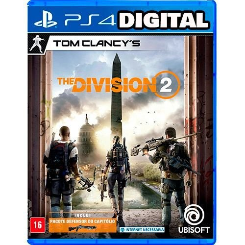 Tom Clancy's The Division 2 Standard Edition - Ps4 - Midia Digital
