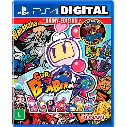 Super Bomberman R - Ps4 - Midia Digital