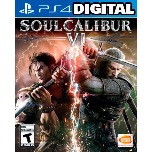 Soul Calibur  VI - Ps4 - Midia Digital