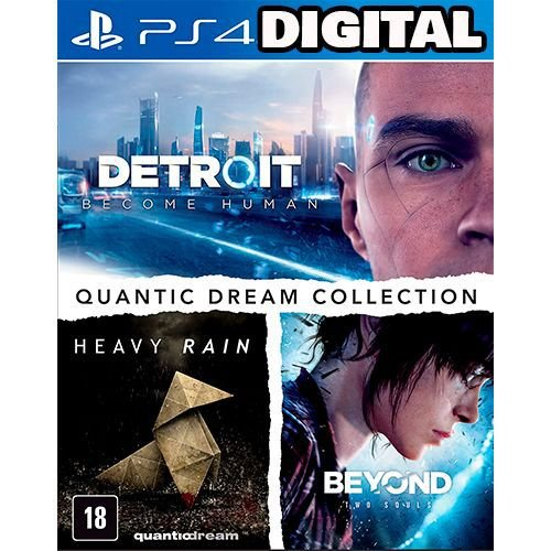 Quantic Dream Collection - Ps4 - Midia Digital