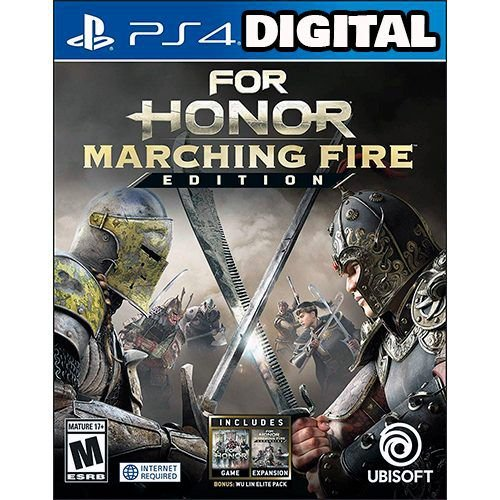For Honor Marching Fire Edition - Ps4 - Midia Digital