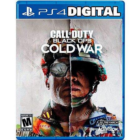 Call of Duty Black Ops Cold War - Ps4 - Ps5 - Mídia Digital
