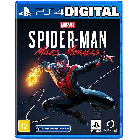 Marvel Spider Man - Miles Morales - Ps4 - Mídia Digital