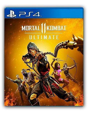 Mortal Kombat 11 Ultimate - Ps4 - Mídia Digital