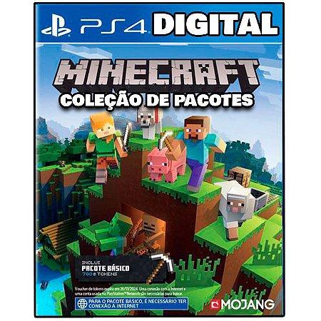 Minecraft Coleção - Ps4 - Mídia Digital