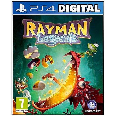 Rayman Legends - Ps4 - Midia Digital