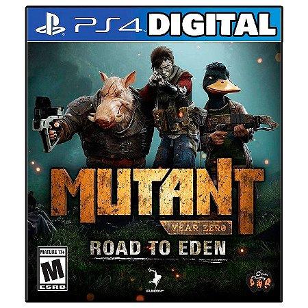 Mutant Year Zero Road to Eden - Ps4 - Midia Digital