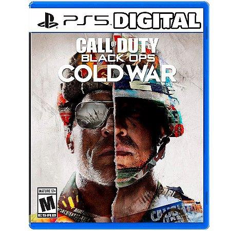 Call of Duty Black Ops Cold War PS5 - Mídia Digital