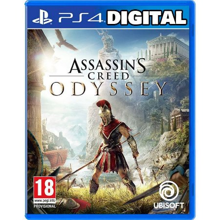 Assassin's Creed Odyssey - Ps4 - Mídia Digital
