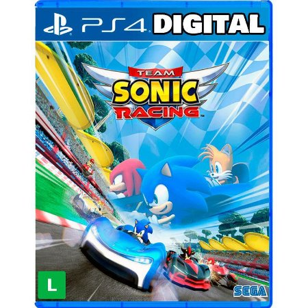 Team Sonic Racing - Ps4 - Mídia Digital