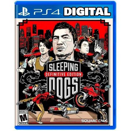 Sleeping Dog Definitive Edition - Ps4 - Mídia Digital