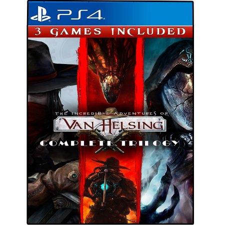 As incríveis aventuras de Van Helsing trilogia completa - Ps4 - Mídia Digital