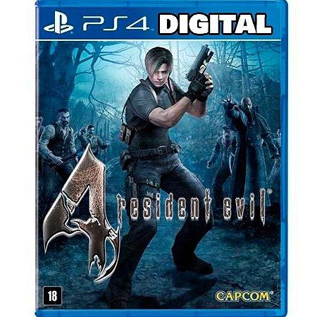 Resident evil 4 - Ps4 - Midia Digital