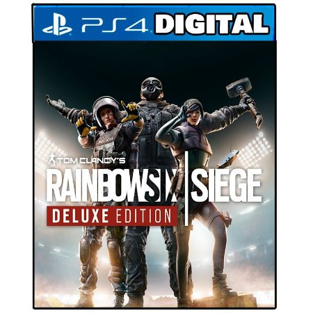 Tom Clancys Rainbow Six Siege Deluxe Edition PS4 - PS5 - Mídia Digital