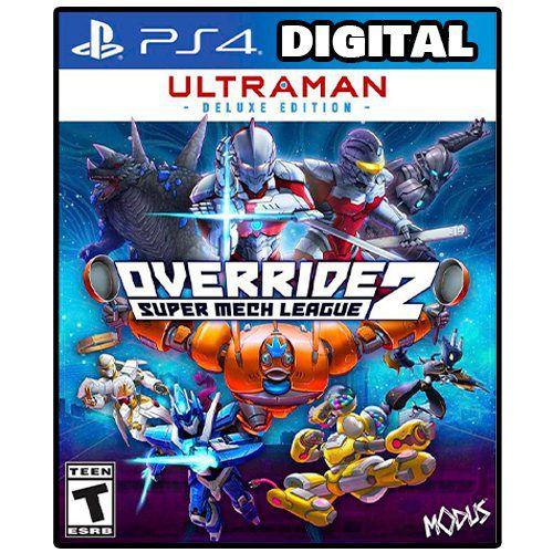 Override 2 Super Mech League - Ultraman Edition Ps4 - Ps5 - Mídia Digital