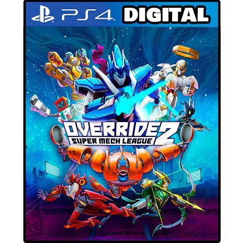 Override 2 Super Mech League - Ps4 - Mídia Digital