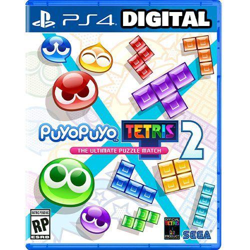 Puyo Puyo Tetris 2 Launch Edition - Ps4 - Ps5 - Mídia Digital