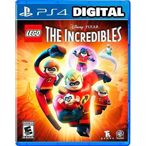 Lego Os Incríveis - Ps4 - Mídia Digital