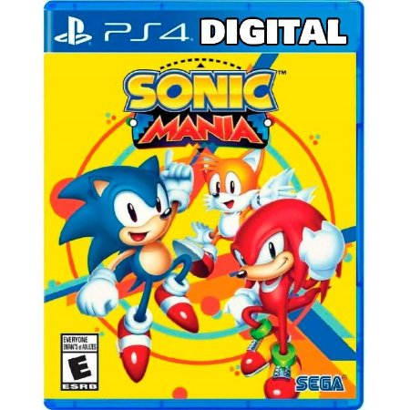 Sonic Mania - Ps4 - Mídia Digital