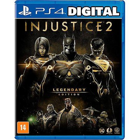 Injustice 2 - Legendary Edition - Ps4 - Mídia Digital
