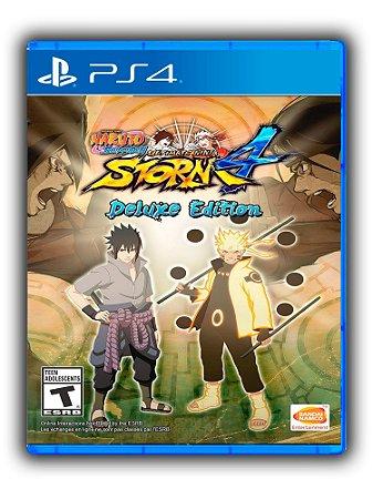 Naruto Shippuden Ultimate Ninja Storm 4 - Deluxe Edition - Ps4 - Mídia Digital