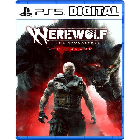 Werewolf The Apocalypse Earthblood Ps5 Mídia Digital