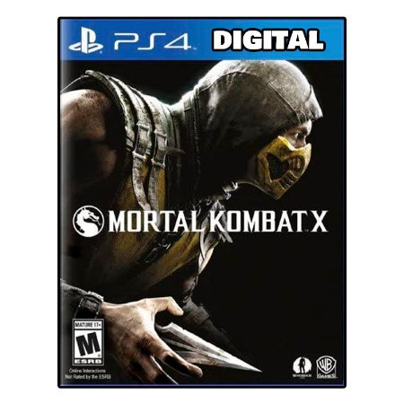 Mortal Kombat X - Ps4 - Mídia Digital