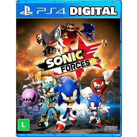 Sonic Forces - Ps4 - Mídia Digital