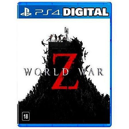 World War Z - Ps4 - Mídia Digital