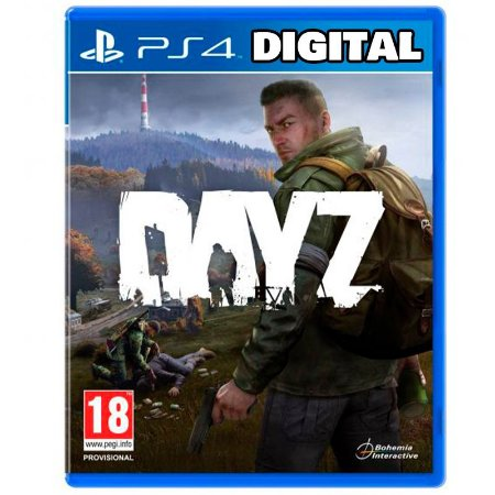 DayZ - Ps4 - Mídia Digital