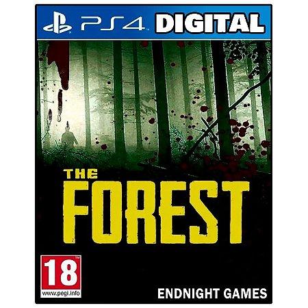 The Forest - Ps4 - Mídia Digital