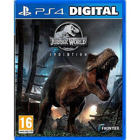 Jurassic World Evolution - Ps4 - Mídia Digital