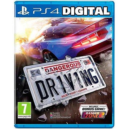 Dangerous Driving - Ps4 - Mídia Digital