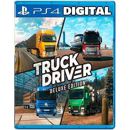 Truck Driver Deluxe Edition - Ps4 - Mídia Digital