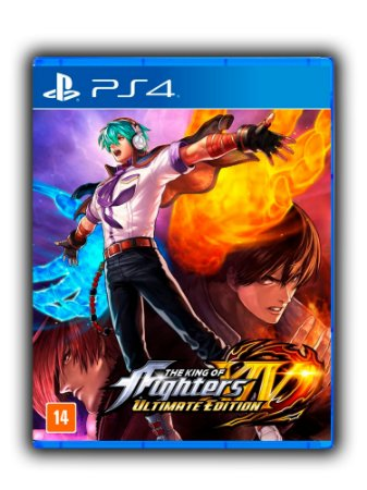 The King Of Fighters XIV Ultimate Edition - Ps4 - Ps5 - Mídia Digital