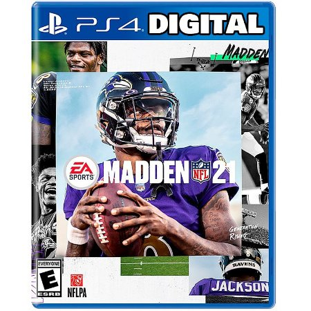 Madden NFL 21 Ps4 - Ps5 - Mídia Digital