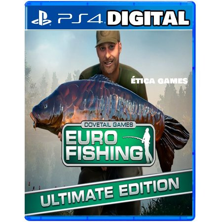 Euro Fishing Ultimate Edition - Ps4 - Ps5 - Mídia Digital