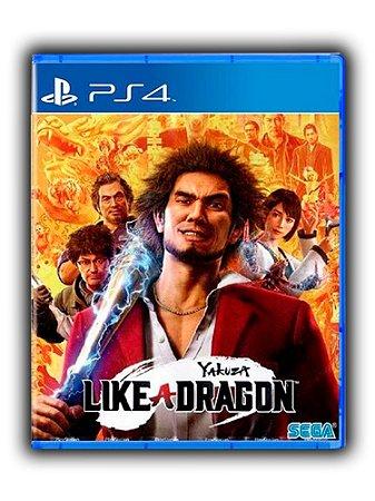 Yakuza Like a Dragon Ps4 - Ps5 - Mídia Digital