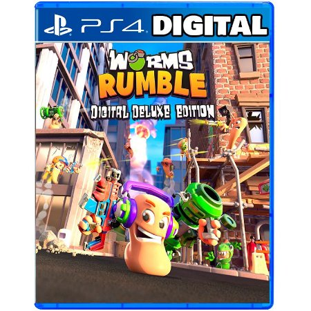 Worms Rumble Digital Deluxe Edition Ps4 - Ps5 - Mídia Digital