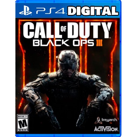 Call of Duty Black Ops 3 - Edição Zombies Chronicles Ps4 - Mídia Digital
