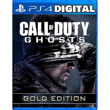 Call of Duty Ghosts Edição Ouro - Ps4 - Ps5 - Mídia Digital