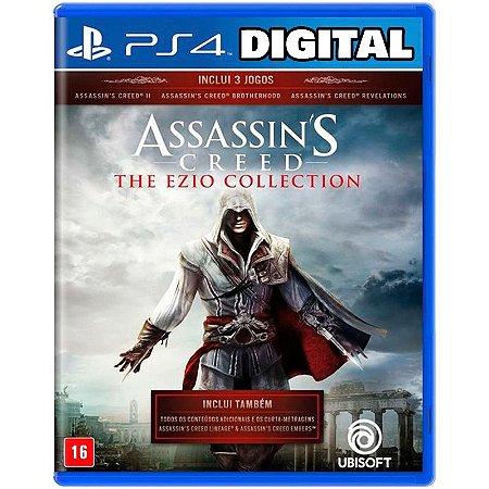 Assassin's Creed The Ezio Collection - Ps4 - Ps5 Mídia Digital
