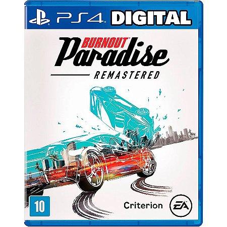 Burnout Paradise Remastered - Ps4 - Mídia Digital