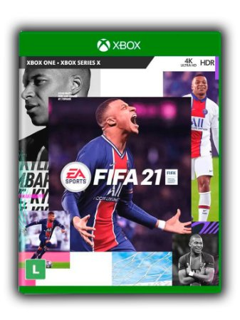 FIFA 21 Xbox One Xbox Series X|S Mídia Digital