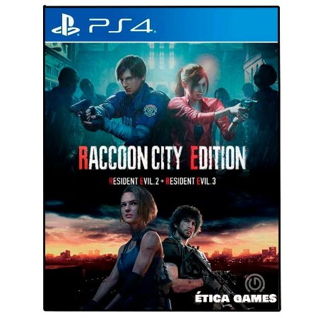 RACCOON CITY EDITION - Ps4 - Mídia Digital