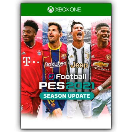 eFootball PES 21 SEASON UPDATE STANDARD EDITION Xbox One Mídia Digital